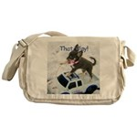Chihuahua Trucker Messenger Bag