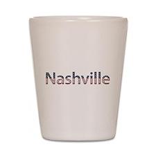 Nashville Stars and Stripes Shot Glass