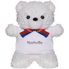 Nashville Stars and Stripes Teddy Bear