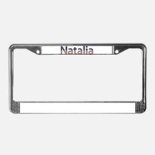 Natalia Stars and Stripes License Plate Frame