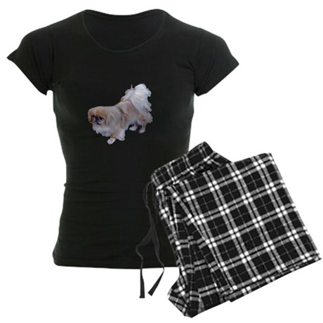 Pekingese Dog Women's Dark Pajamas