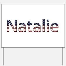Natalie Stars and Stripes Yard Sign