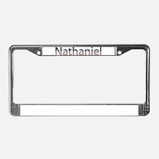 Nathaniel Stars and Stripes License Plate Frame