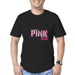 PINK for Mom Men's Fitted T-Shirt (dark)