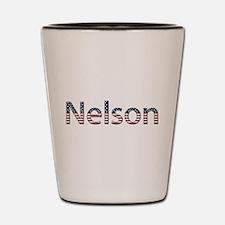 Nelson Stars and Stripes Shot Glass