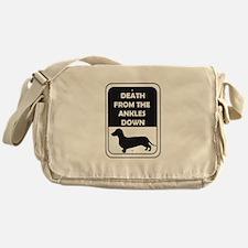 Ankle Death Messenger Bag