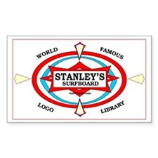 Stanley's World Famous Rectangle Decal
