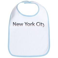 New York City Stars and Strip Bib