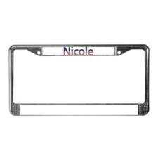 Nicole Stars and Stripes License Plate Frame