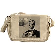 Lincoln's Birthday Messenger Bag