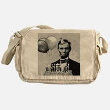 Lincoln's Birthday Messenger Bag