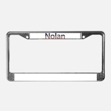 Nolan Stars and Stripes License Plate Frame