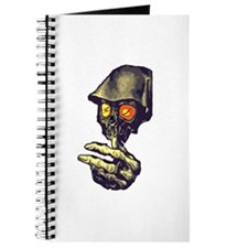 Creepy Zombie Skull Journal