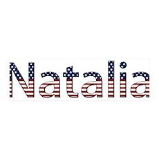 Natalia Stars and Stripes 42x14 Wall Peel