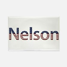 Nelson Stars and Stripes Rectangle Magnet