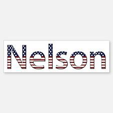 Nelson Stars and Stripes Bumper Bumper Bumper Sticker