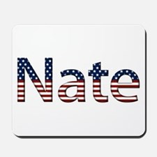 Nate Stars and Stripes Mousepad