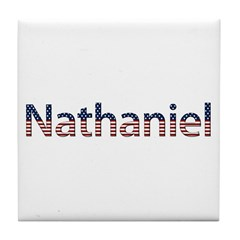 Nathaniel Stars and Stripes Tile Coaster
