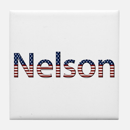 Nelson Stars and Stripes Tile Coaster