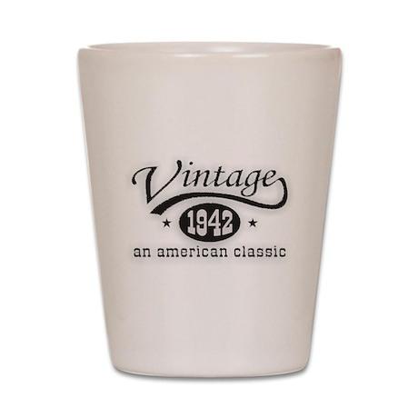 Vintage 1942 Shot Glass