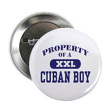 Property of a Cuban Boy Button