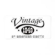 Vintage 1949 Birthday Aluminum License Plate