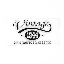 Vintage 1944 Aluminum License Plate