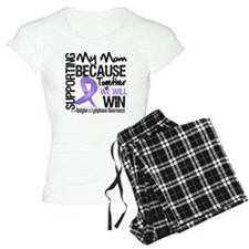 Support Mom Hodgkins pajamas