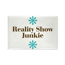 Reality Show Junkie Rectangle Magnet (10 pack)