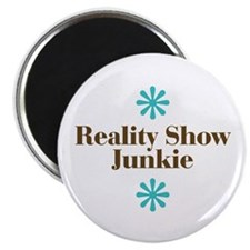 "Reality Show Junkie 2.25"" Magnet (10 pack)"