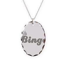 Bingo Queen Gold Diamonds Necklace