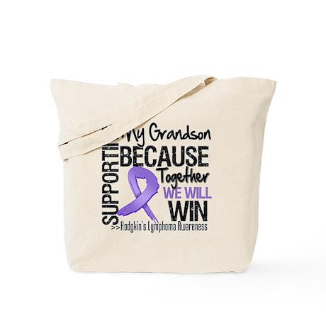 Support Grandson Hodgkins Tote Bag