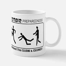 Zombie Prepared SLOW Small Mugs