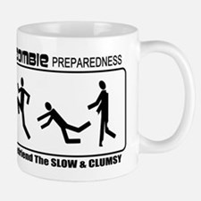 Zombie Prepared SLOW Small Small Mug