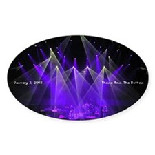 Phish Oval Decal