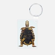Box Turtle Straight Up Keychains