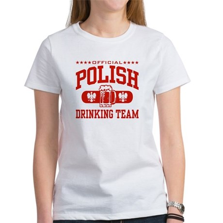Polish Drinking Team Women's T-Shirt