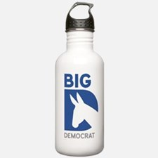Big D Democrat Water Bottle