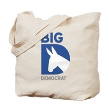 Big D Democrat Tote Bag