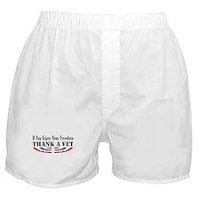 Thank a Vet Boxer Shorts