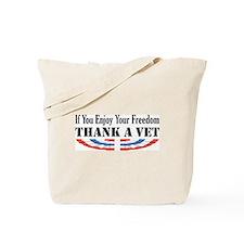 Thank a Vet Tote Bag
