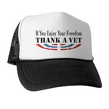 Thank a Vet Trucker Hat