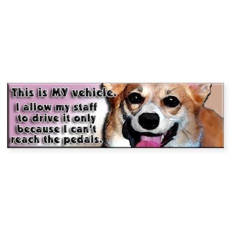 MY Vehicle - Sticker (Bumper)
