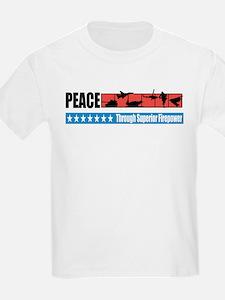 Superior Firepower Kids T-Shirt