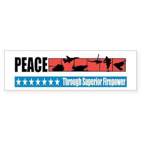 Superior Firepower Bumper Sticker