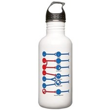 The Many Moods of a Neuron Water Bottle 1.0L