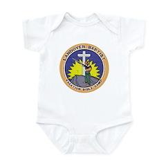 Bible Gun Camp Infant Bodysuit