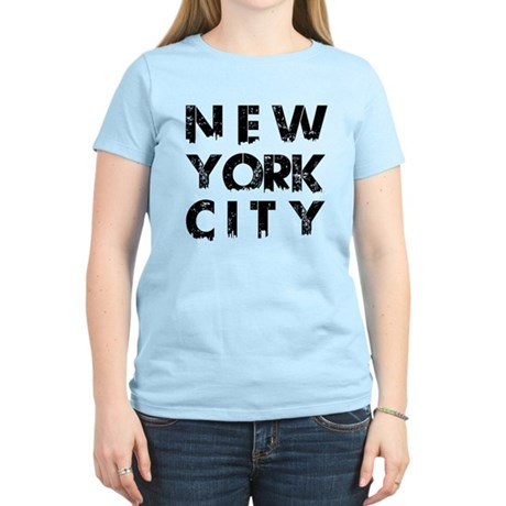 New York City Women 39 S Light T Shirt New York City T Shirt