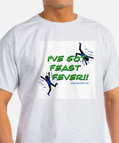 Feast Fever Ash Grey T-Shirt