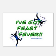 Feast Fever Postcards (Package of 8)